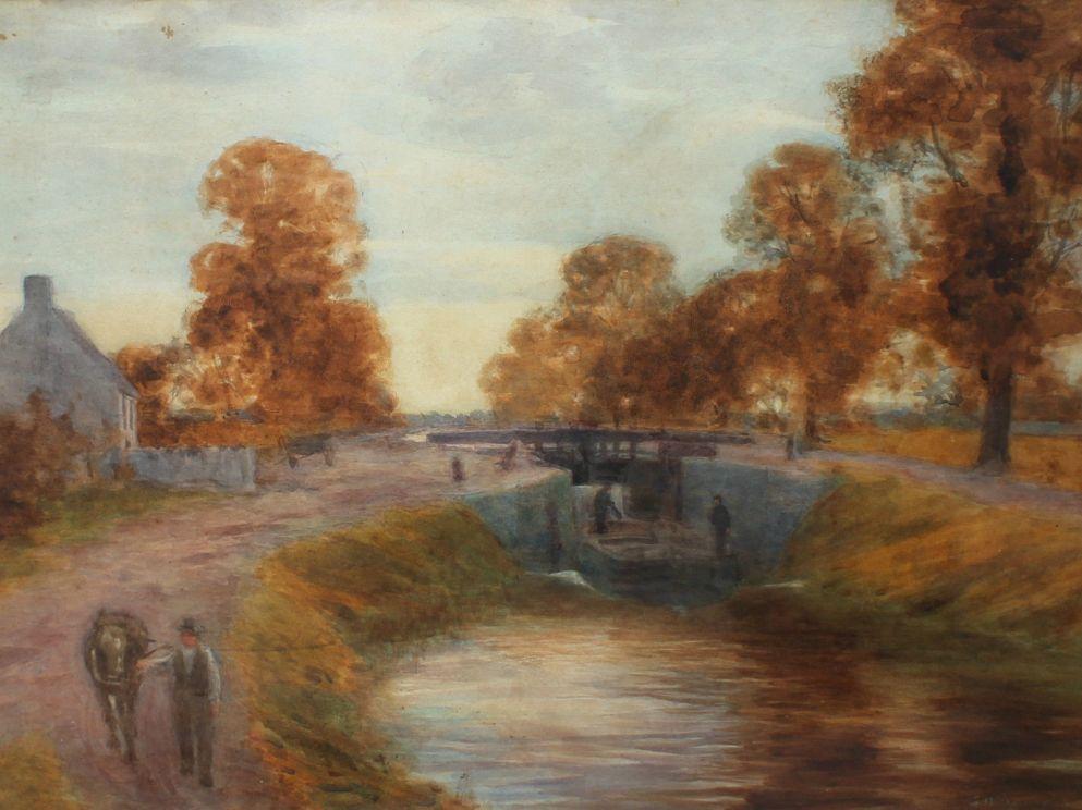 Hastings Wakeman Canal Scene